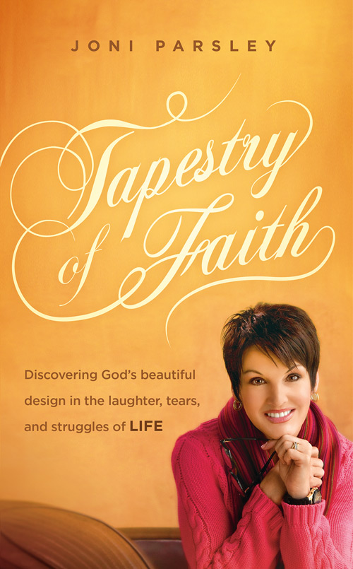 The Cover of Joni Parsley's new book - Tapestry of Faith